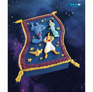 Disney cakes sweets 31 aladdin39s magic carpet cake for Aladdin carpet animation