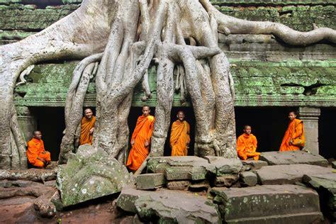 secret sights cambodias ancient ruins london evening