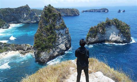 bukit atuh nusa penida wisata alam  view keren