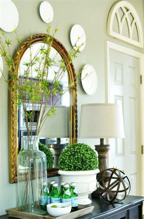 bring spring   beautiful greenery touches
