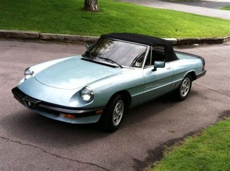 Sell Used 1984 Alfa Romeo Spider Veloce 20 W Ac Great