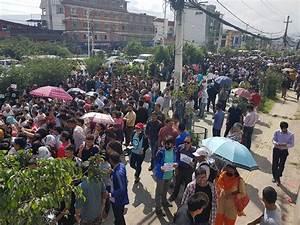 Massive rally in Kathmandu demanding justice for Nirmala ...