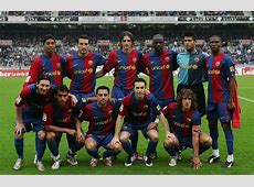 This Barcelona XI from 2007 achieved something no other