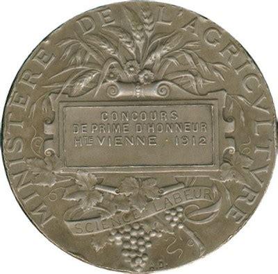 chambre d agriculture haute vienne medailles jetons haute vienne