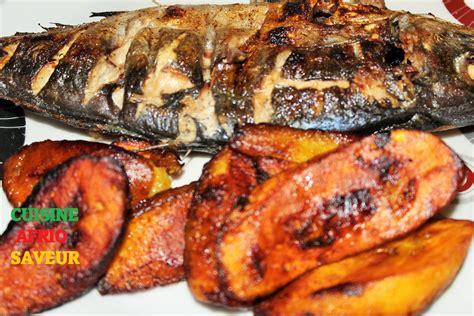 recette de cuisine camerounaise chinchard maquereau braisé poisson braisé cameroun