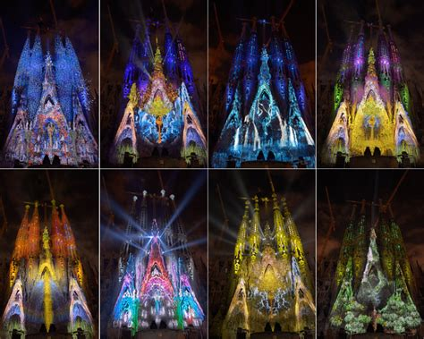 lade da barca la sagrada familia se viste de luz y color para celebrar
