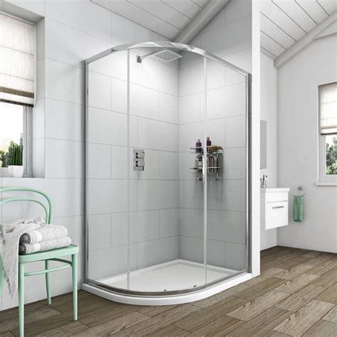 bathroom shower enclosures ideas orchard 6mm single door offset quadrant shower enclosure