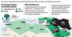 The Middle East And Iran  Sunnis And Shiites In The Middle