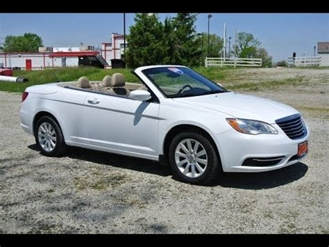chrysler  touring convertible  sale dayton troy