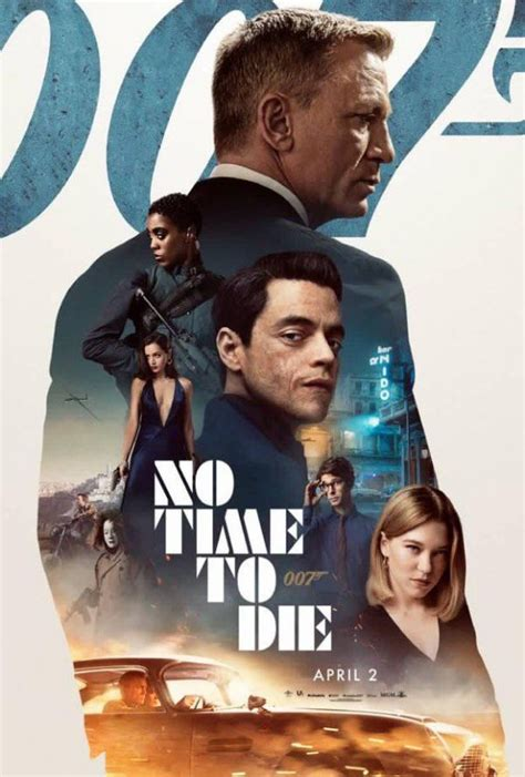 No Time To Die cast assembles on new poster