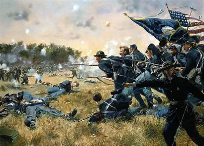 Battle War Civil Military Painting Backgrounds Army