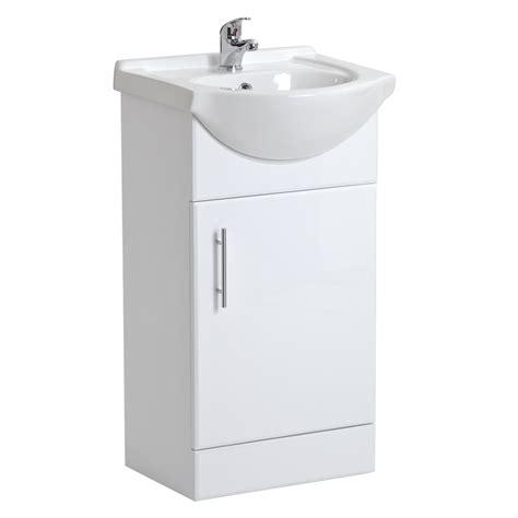 bathroom vanity cabinet storage white gloss bathroom vanity unit basin sink cabinet