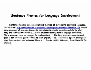 Language Scaffolding For Ells By Plabarre