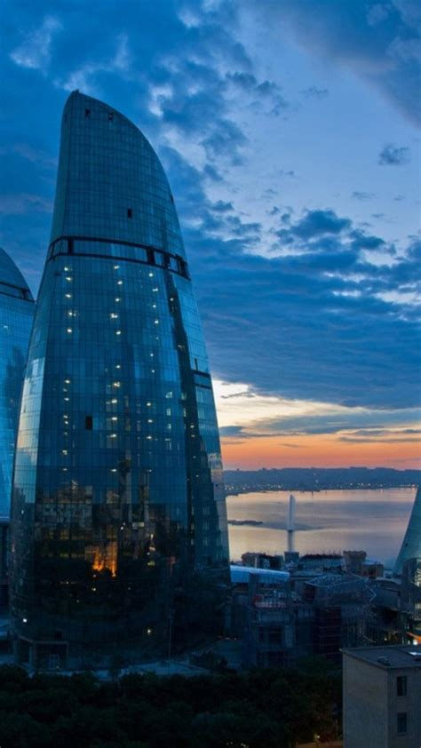 futuristic architecture design buildings azerbaijan baku