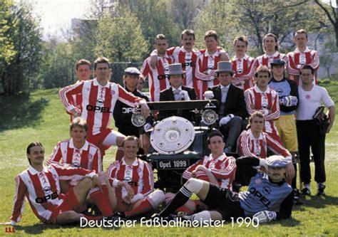 fc bayern munchen deutscher fußballmeister 1990 fc bayern münchen