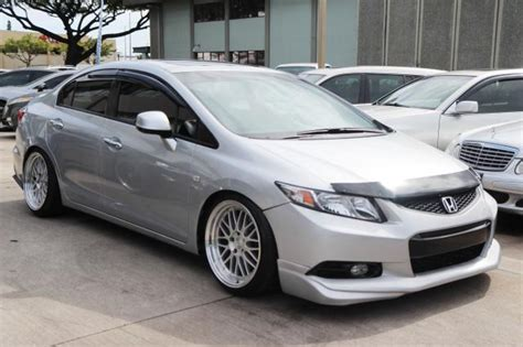 autoland 2012 honda civic si air suspension rims 35k lip