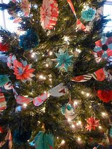 Paper, Diy, Christmas, Tree, Ornaments