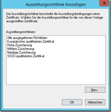 zertifizierungsstelle extended validation zertifikate