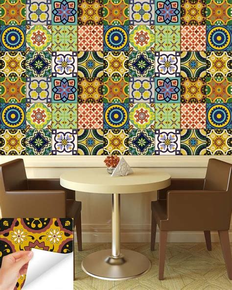stickers for tiles in kitchen 24 tile stickers kitchen idea bathroom tiles decals 8354