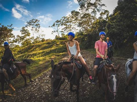 waterfall fortuna horseback riding tour arenal volcano