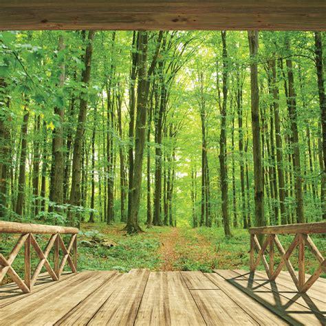 walltastic woodland forest wallpaper mural