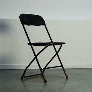 Chaise Pliante Noire : location chaise pliante noire pour conf rence r union ou s minaire ~ Teatrodelosmanantiales.com Idées de Décoration