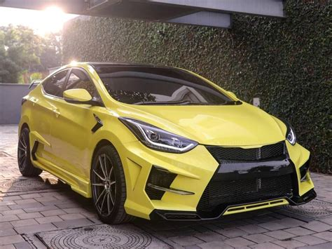See my wheelwell for a full list of modifications! This Custom Hyundai Elantra Gets Lamborghini-Inspired Mods ...