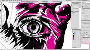 Adobe Illustrator Vector Drawing Timelapse 8 00   U0026quot Hamsa