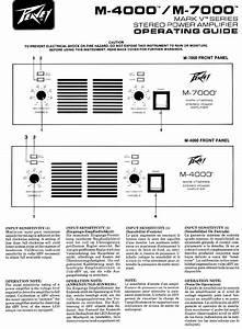 Peavey Stereo Amplifier M