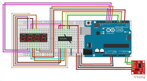 Arduino Segment Display Clock Project Multiplexing
