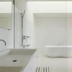 la baignoire douche marie claire maison With salle de bain toute blanche