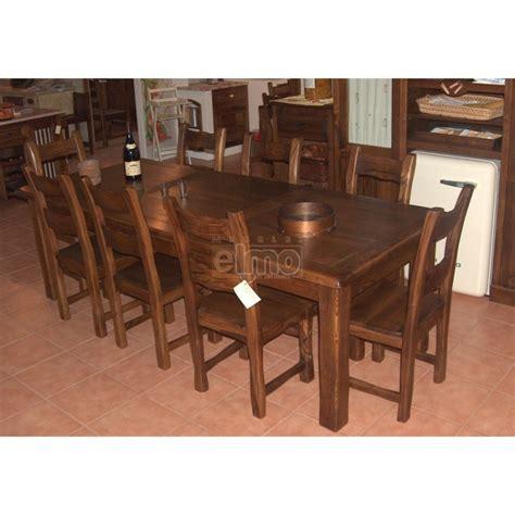 table salle a manger massif table de salle 224 manger rustique ch 234 ne massif 8 224 10 couverts