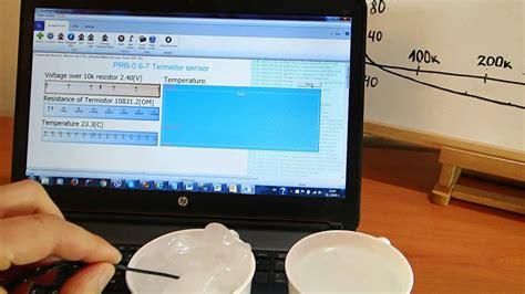 experiment  prb    temperature sensor