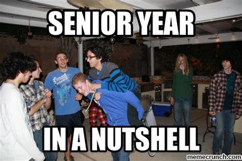 Senior Year Meme - senior year