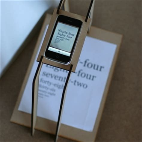 how to scan from iphone create an iphone document scanner from cardboard