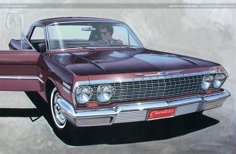 1963 Chevrolet Impala coupe – Ted Nasmith
