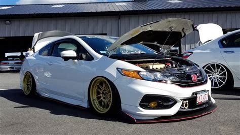 Modified Civic Parts by Modified Honda Civic At Thompson Speedway Connecticut