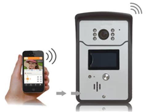 wifi klingel mit hd kamera wlan tuerklingel mit
