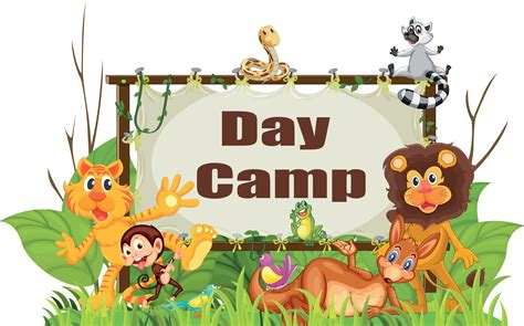 jungle theme day camp shac