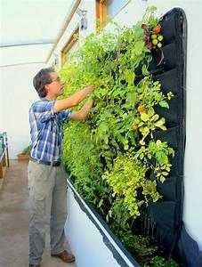 Vertikaler Garten Selber Bauen : ein vertikaler garten selber bauen schritt f r schritt ~ Lizthompson.info Haus und Dekorationen