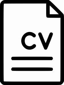 Vitae Resume File Document Cv Curriculum Vitae Svg Png Icon Free