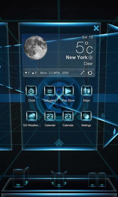 3d launcher for android next launcher 3d theme free android theme