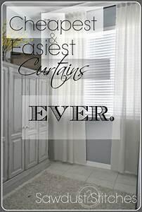 muslin, curtains, -, cheapest, , u0026, easiest, curtains, , ever
