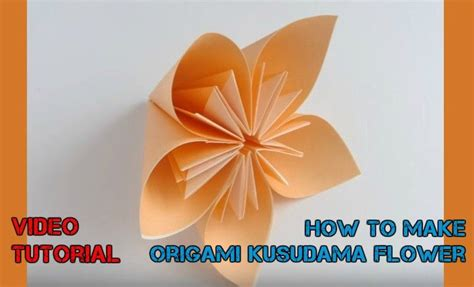 Easy paper ivoiregion how to make easy origami flowers video instructions mightylinksfo