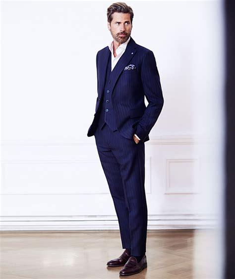 ways  wear pinstripes fashionbeans