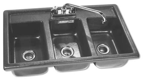 3 compartment sink sanitizer three compartment drop in sanitizing sink moli international