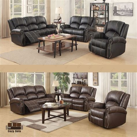 Sofa Set 3 2 by Gold Thread Sofa Set Loveseat Recliner 3 2 1 Leather