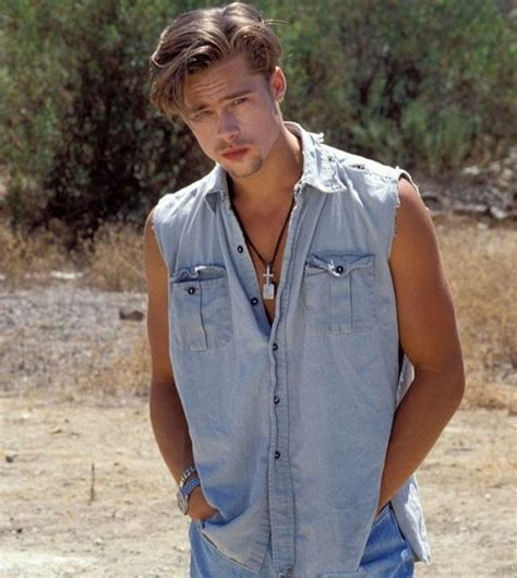 charming brad pitt hairstyles styling ideas
