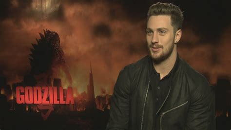 Aaron Taylor-Johnson interview on Godzilla, difficult ...