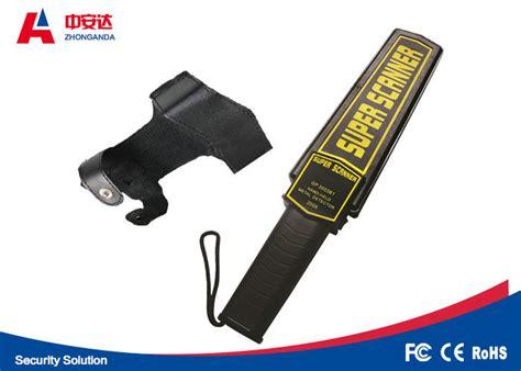 Two Sensitivities Handheld Metal Detector Wand For Police